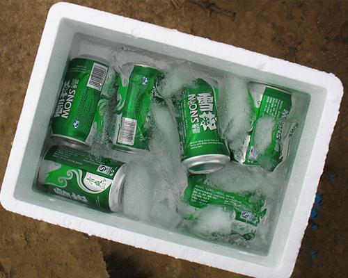 啤酒保鲜泡沫箱